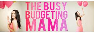 Busy Budgeting Mama