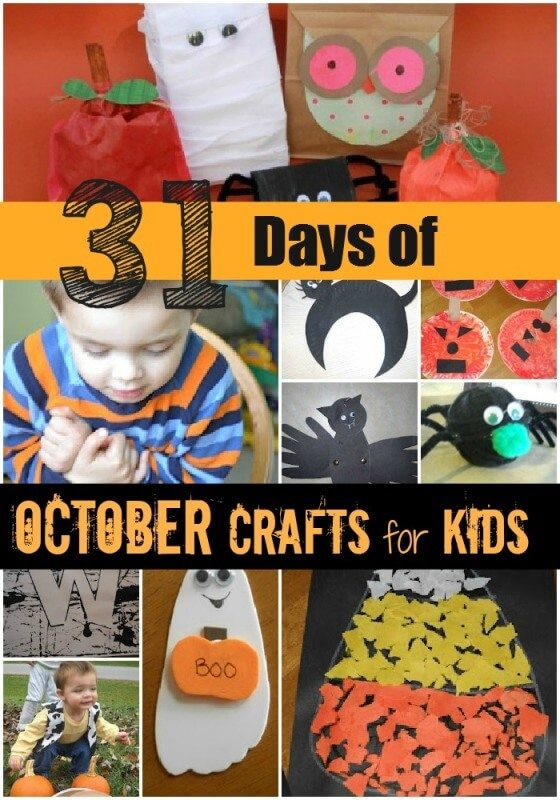 31 Days of October Crafts