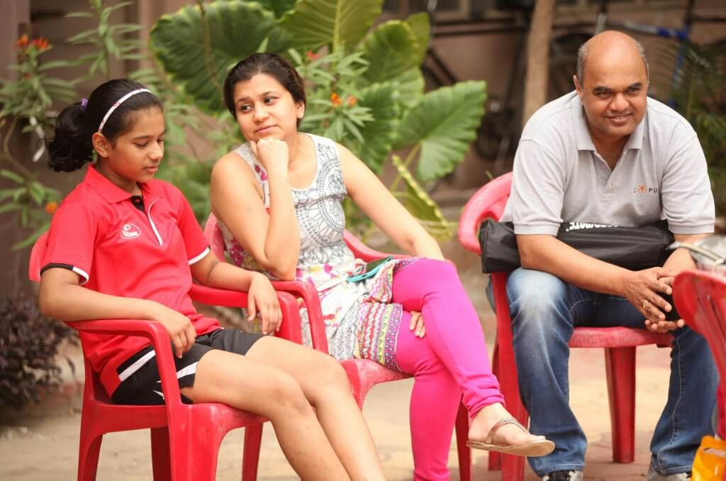 Diya with Reshma and Parag