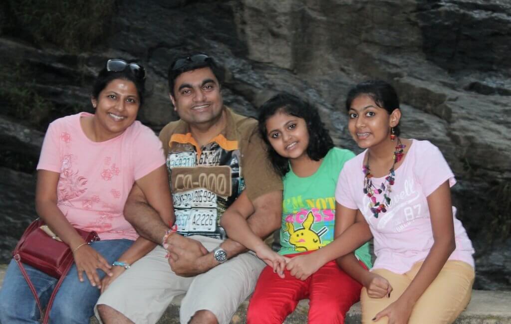Ms Madhuri Gada & Family