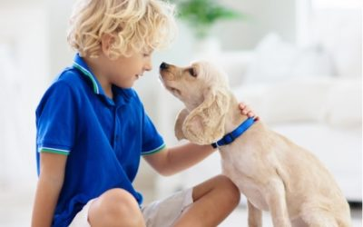 The Benefits of Kids and Dogs Growing Together