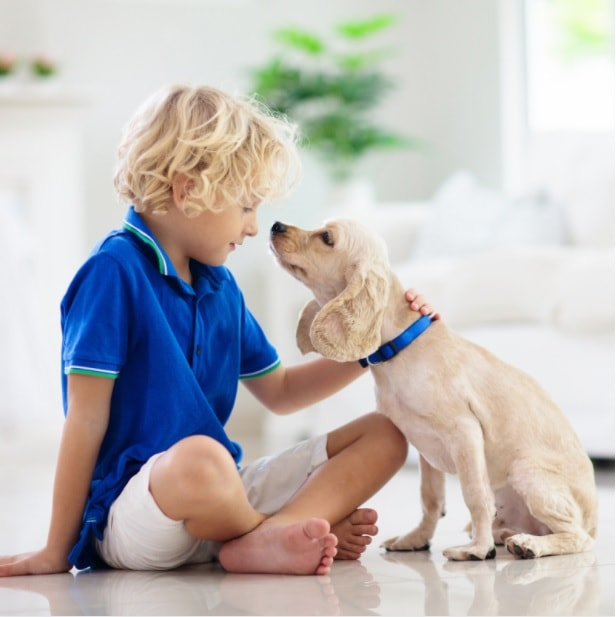 healthy for children to have a dog