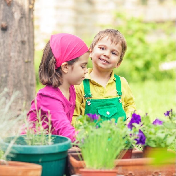 child friendly garden designs