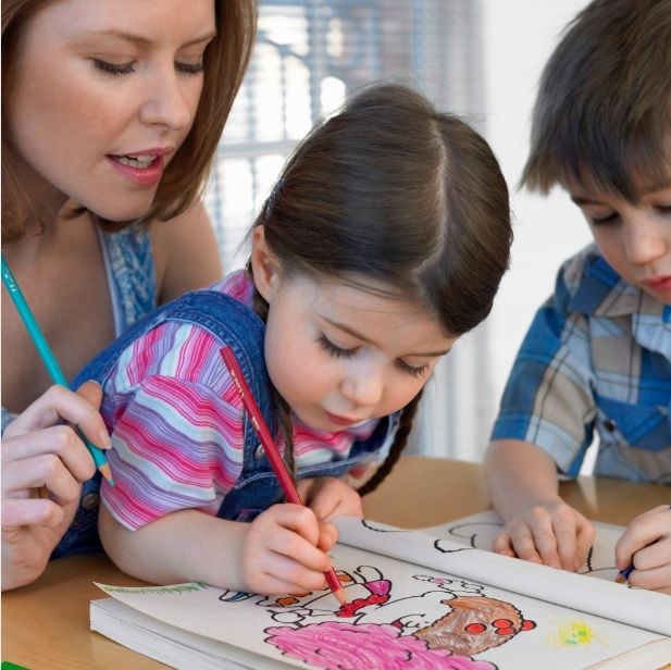 coloring as a parenting tool