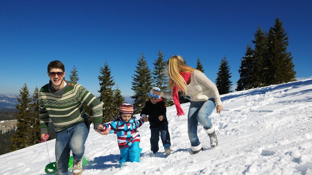 winter activities for families