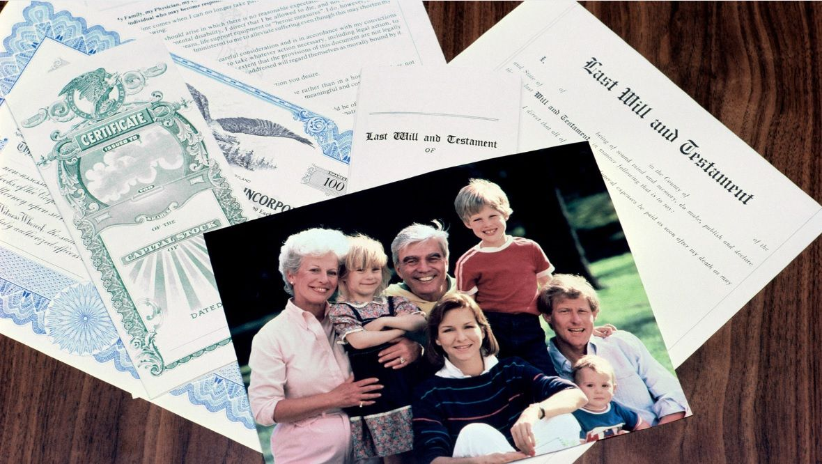 writing a will as a parent