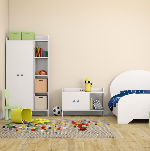 giving master bedroom to kids