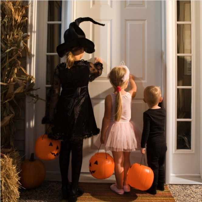 Halloween lessons trick or treating