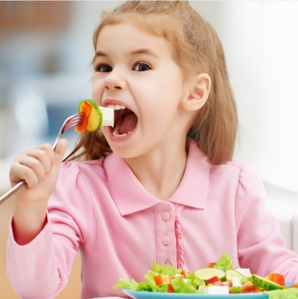 healthy eating in children fun