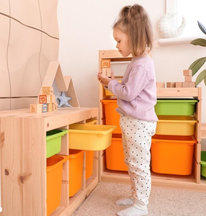 desing a beautiful kids playroom at home
