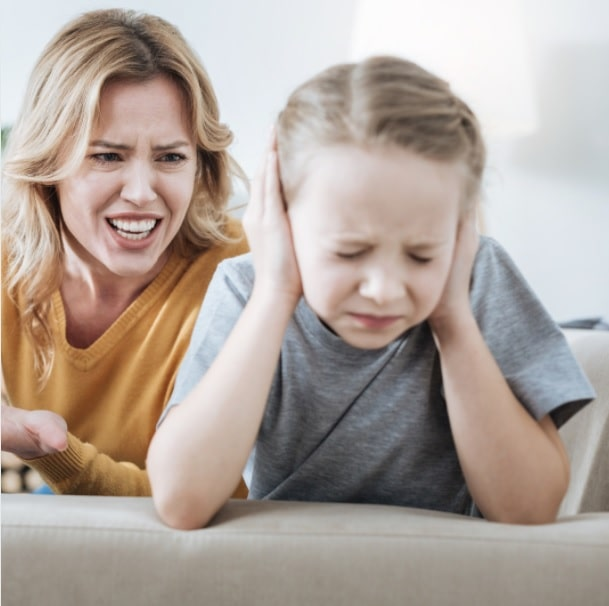 stop yelling at your child