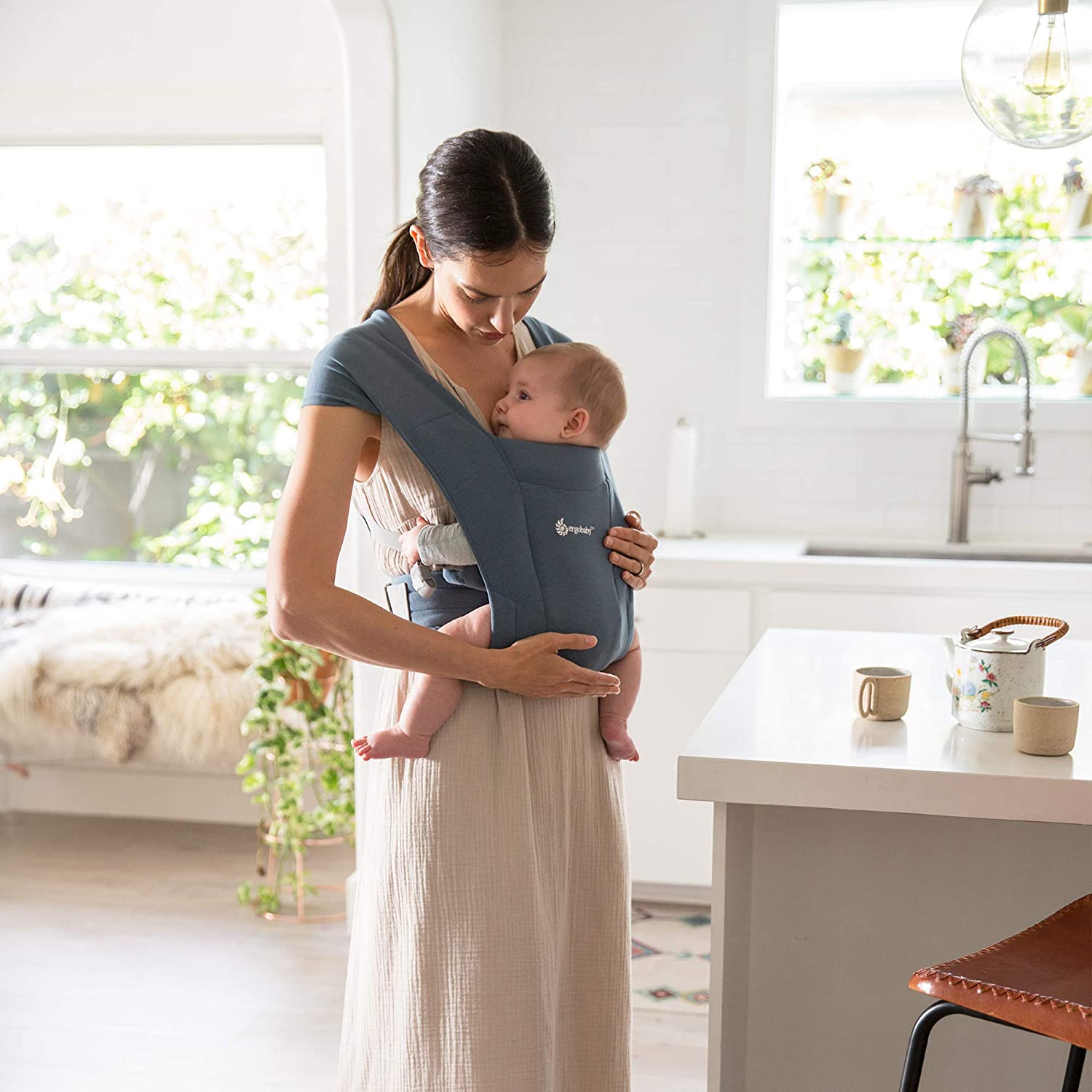 baby carrier for good parent posture