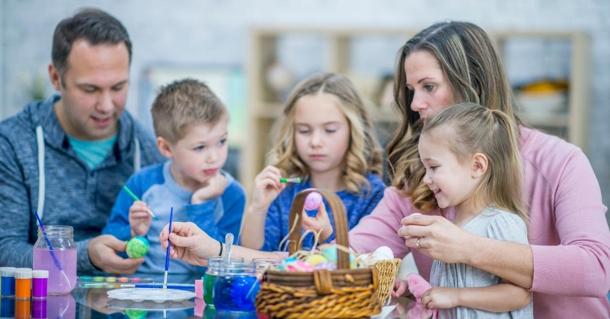 family fun with Easter activities
