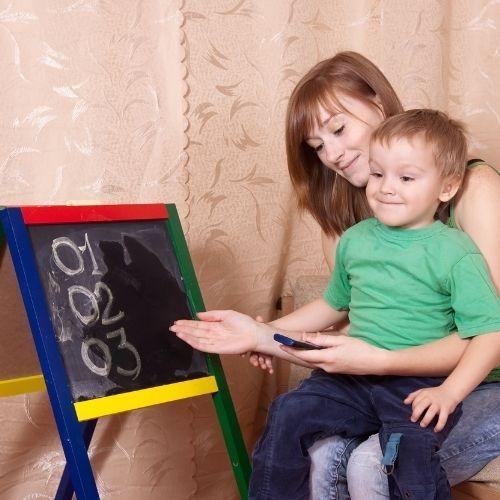 parent child bond through reading
