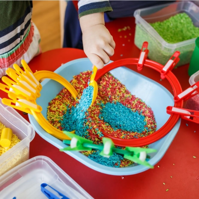 sensory play activities to enhance child development
