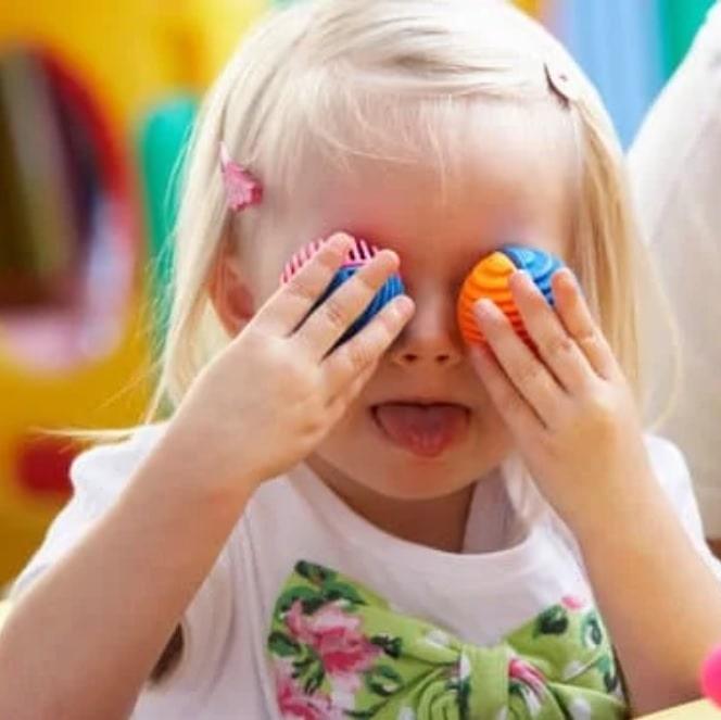 sensory play for development of language skills