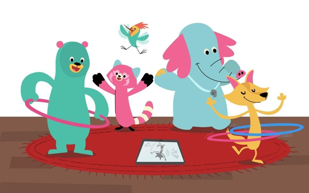 Khan Academy characters educational apps for toddlers