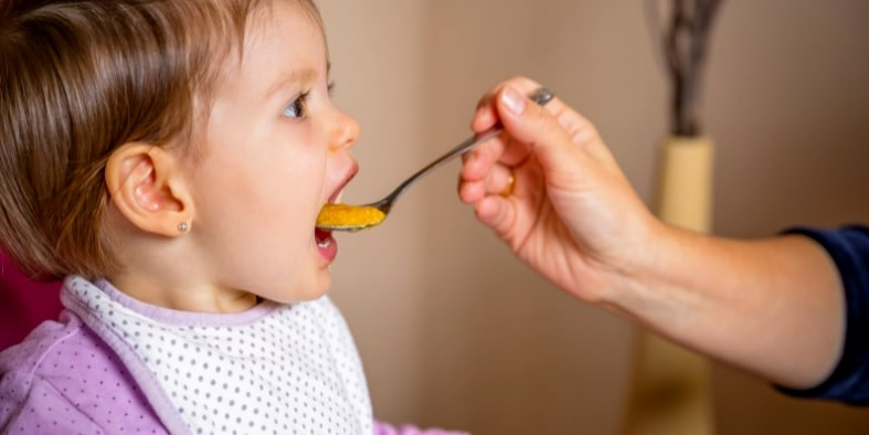 benefits of puree food over baby led weaning