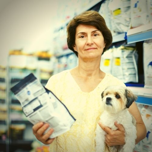 selecting dog food for puppies