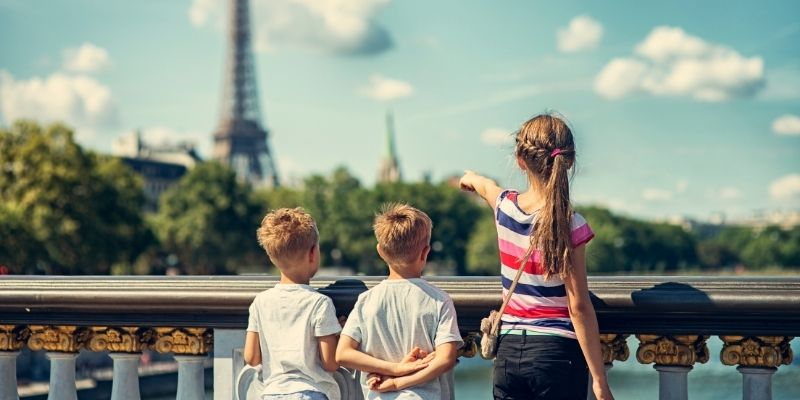 traveling with kids offers an education