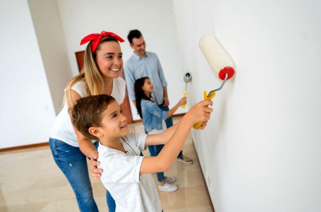 Family Bonding Through House Painting