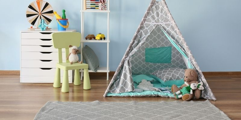 create a learning area for your kids room