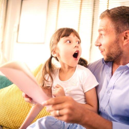 develop language Through story telling