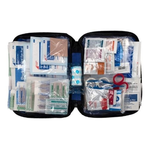 include first aid kit to your family packing list