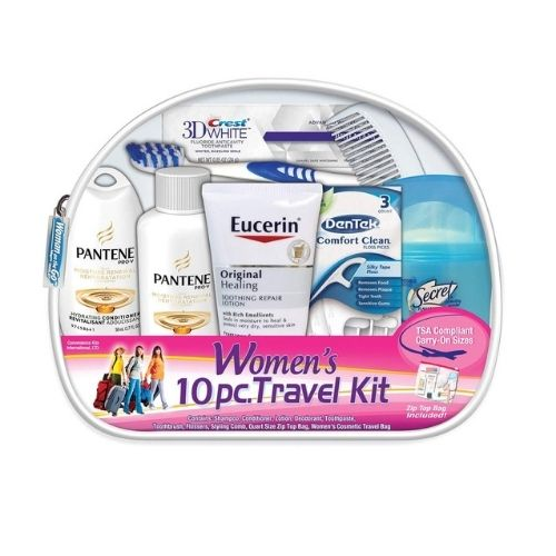 include hygiene kits to your packing list