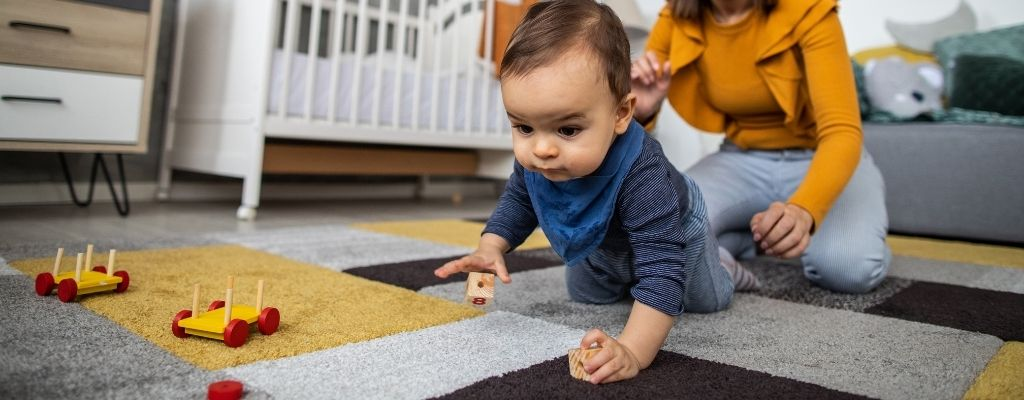 keep an open floor space for kids