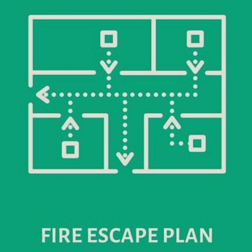 create a fire escape plan for your family